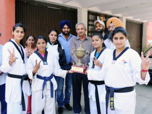 M. M. Modi College Girls Team Win Punjabi University Taekwondo Championship