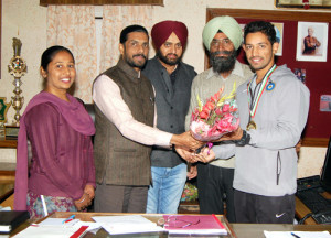 Karan Kaila of Modi College wins Gold at Asia Cricket Cup (U-19) Championship held at Sharjah (UAE)