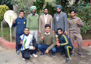 M. M. Modi College Boys Win Best Physique Championship of Punjabi University