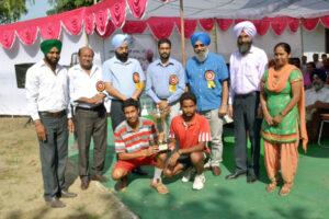 Multani Mal Modi College wins Punjabi University Inter-College Lawn Tennis Championship