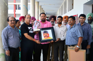 A photo exhibition organized by the Heritage Society of  M. M. Modi College, Patiala
