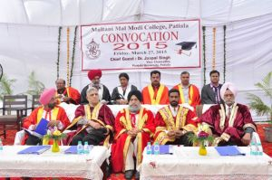 Annual Convocation held at Modi College, Patiala