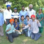 M. M. Modi College (Men) Wins Punjabi University Table Tennis Championship