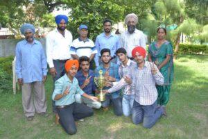 M. M. Modi College (Men) Wins Punjabi University Table Tennis Championship