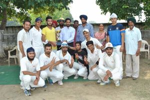 M. M. Modi College Wins Punjabi University Inter Zonal Cricket Championship (Men)