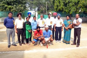 Punjabi University Inter College Lawn Tennis Championship begins at M M Modi College, Patiala