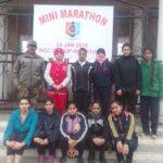 Swati and Priyanshu Bagged Top Positions in Mini Marathon