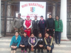 Swati and Priyanshu Bagged Top Positions in Mini Marathon