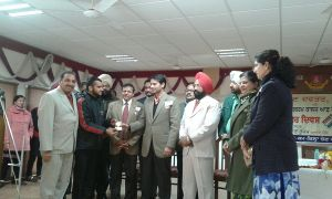 NCC Cadet Ishnoor Singh Ghuman bagged the 3rd position in Debate on Voters' Day