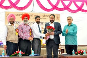 Achievers felicitated at Multani Mal Modi College
