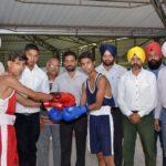 Punjabi University Inter-college Boxing (Men) Championship inaugurated at Multani Mal Modi College Patiala