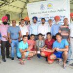 Three-Day Punjabi University Inter-College Boxing (Men) Championship bagged by Multani Mal Modi College, Patiala