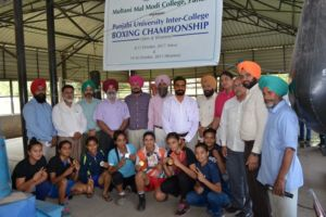 Three-Day Punjabi University Inter-College Boxing (Women) Championship bagged by Multani Mal Modi College, Patiala