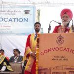 Convocation – 2018 held at Multani Mal Modi College, Patiala