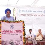 Annual Prize Distribution Function held at Modi College