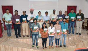 Annual Magazine 'The Luminary' released at M M Modi College