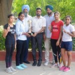 Modi College wins Punjabi University Canoeing (Girls) Inter College Championship