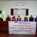 Career Awareness Programme by Patiala Chapter of ICSI