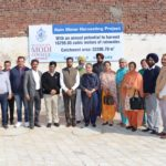 Rain Water Harvesting System and New Parking Space inaugurated