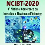 3rd National Conference on Innovations in Bioscience and Technology (NCIBT-2020) on March-07, 2020