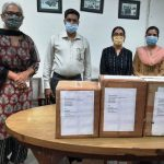 College contributes books for re-establishment of a burnt library