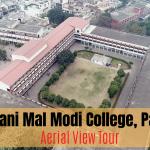 Aerial Tour of Modi College, Patiala