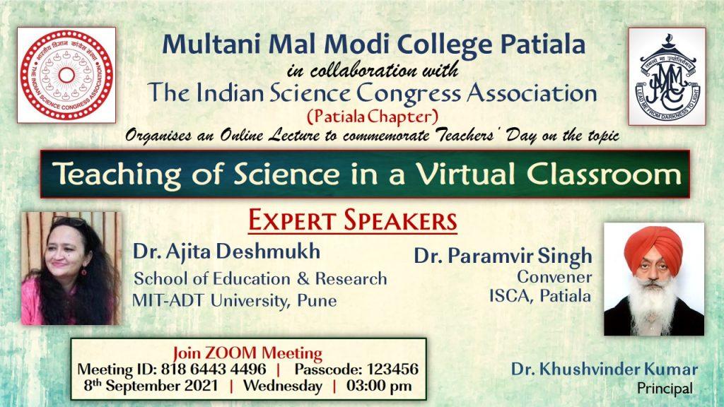 Flyer Teaching of Science